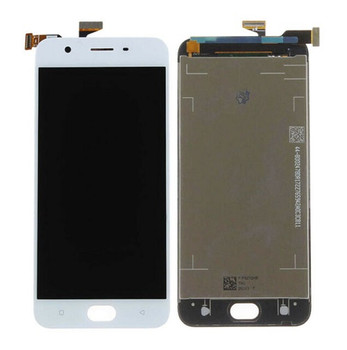For Oppo A57 LCD and Touch Screen Assembly. (White)