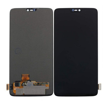 For OnePlus 6 LCD and Touch Screen Assembly. ( Black)
