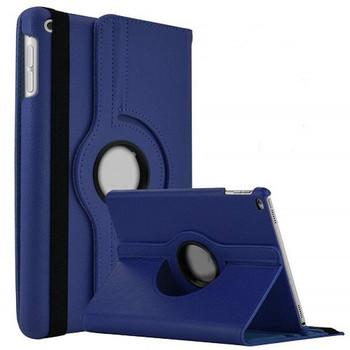 For iPad Air 360 Rotation Flip Case Blue