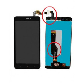 For Xiaomi Redmi Note 4X (Global Version) LCD and Touch Screen Assembly (Black)
