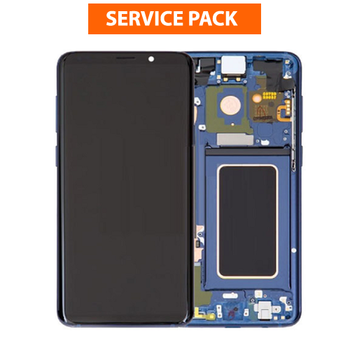 For Samsung Galaxy S9 Service Pack LCD and Touch Screen Assembly (Blue)
