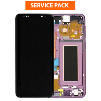 For Samsung Galaxy S9 Service Pack LCD and Touch Screen Assembly (Purple)