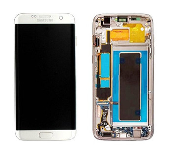 For Samsung Galaxy S7 Edge Refurb LCD and Touch Screen Assembly (Silver)