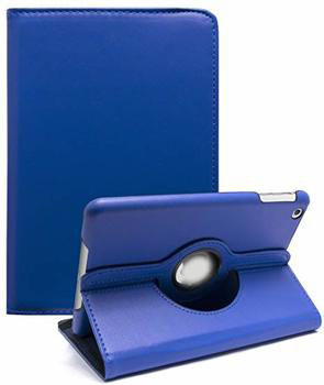 For iPad Mini 1/2/3 360 Rotation Case Blue