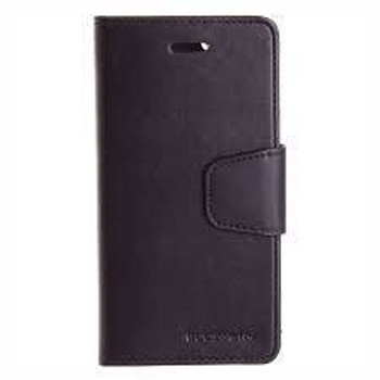 For iPhone XR Sonata Diary Case Black