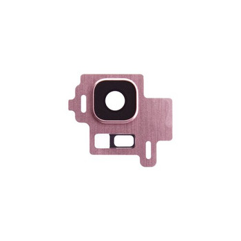 For Samsung Galaxy S8 Back Camera Lens With Frame Pink