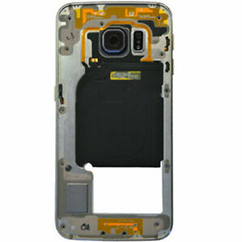 For Samsung Galaxy S6 Middle Frame Black