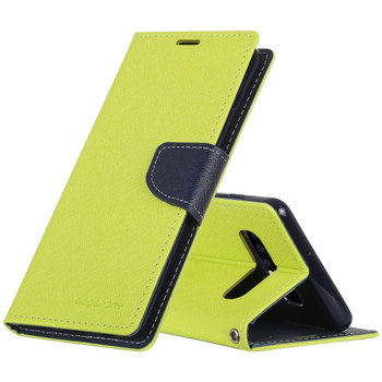 For Samsung Galaxy S10E (Lite) Mercury Fancy Diary Case Green