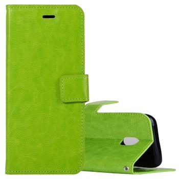 For Samsung Galaxy J5 Mercury Canvas Diary Case Green