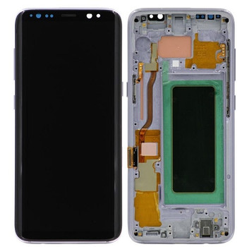 For Samsung Galaxy S8 Refurb LCD and Touch Screen Assembly (Orchid Grey)