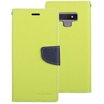 For Samsung Galaxy S10 Plus Mercury Fancy Diary Case Green