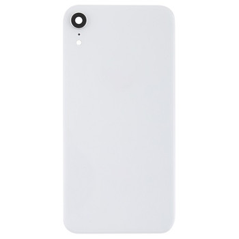 For iPhone XR Back Cover White