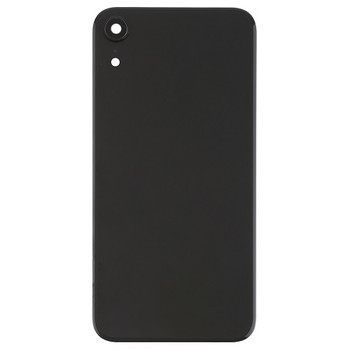 For iPhone XR Back Cover Black