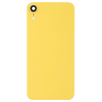 For iPhone XR Back Cover Yellow
