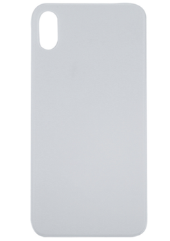 For iPhone XS Max Back Cover White