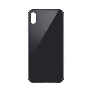 For iPhone XS Max Back Cover Black