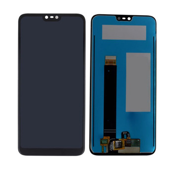 For Nokia 8.1 LCD and Touch Screen Assembly. ( Black)