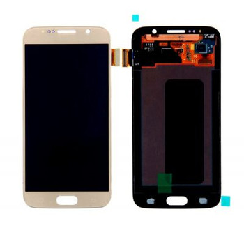 For Samsung Galaxy S6 Refurb LCD and Touch Screen Assembly . (Gold)