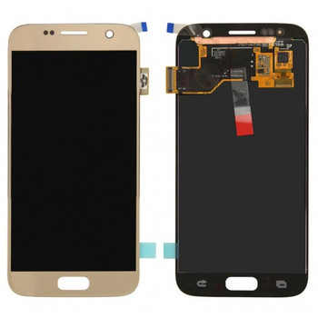 For Samsung Galaxy S7 Refurb LCD and Touch Screen Assembly (Gold)