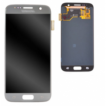 For Samsung Galaxy S7 Refurb LCD and Touch Screen Assembly (Silver)