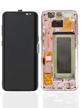 For Samsung Galaxy S8 Plus Refurb LCD and Touch Screen Assembly (Gold)