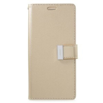 For Samsung Galaxy S9 Plus Rich Diary Case Gold
