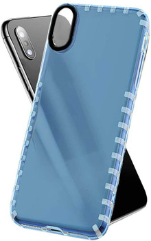 For iPhone XS Max Bumper X Case Blue