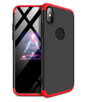 For iPhone XS Max Bumper X Case Red