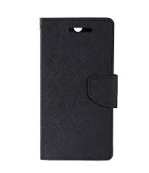 For iPhone X/XS Mercury Fancy Diary Case Black