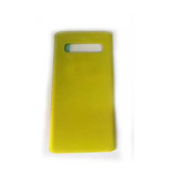 For Samsung Galaxy S10 Plus Back Cover Yellow