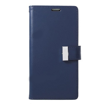 For Samsung Galaxy S10 Plus Rich Diary Case Blue