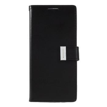 For Samsung Galaxy S20 Plus Rich Diary Case Black
