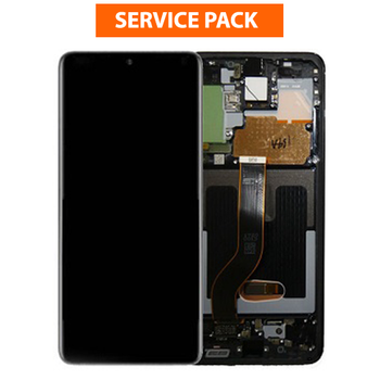 For Samsung Galaxy S20 Plus Service Pack LCD and Touch Screen Assembly (Black)