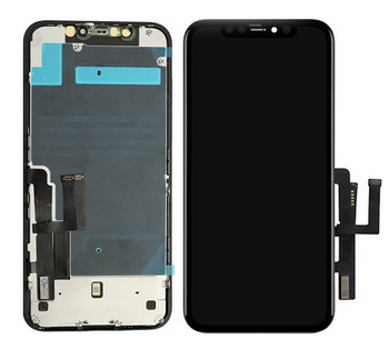 For iPhone 11 LCD and Touch Screen Assembly With Metal Plate (Black)