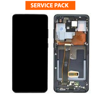For Samsung Galaxy S20 Ultra Service Pack LCD and Touch Screen Assembly (Black)