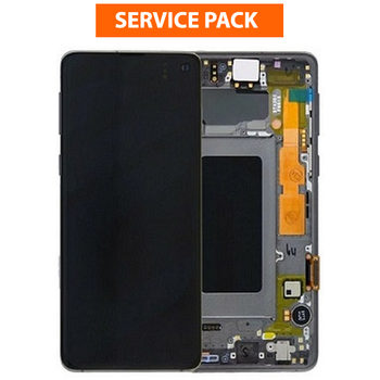 For Samsung Galaxy S10 5G Service Pack LCD and Touch Screen Assembly (Black)