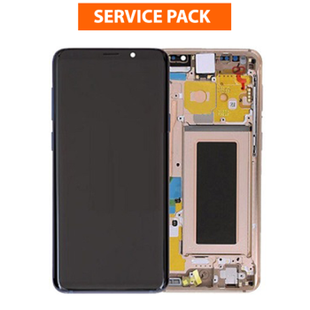 For Samsung Galaxy S9 Service Pack LCD and Touch Screen Assembly (Gold)