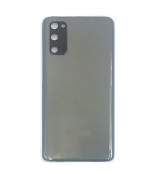 For  Samsung Galaxy S20 Back Cover With Camera Lens (Grey)