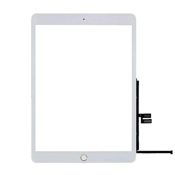 """For iPad 7 2019 / iPad 8 2020 10.2"""" Touch Screen With Home Button and Adhesive Tape (White)"""