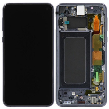 For Samsung Galaxy S10E Refurb LCD and Touch Screen Assembly . (Black)