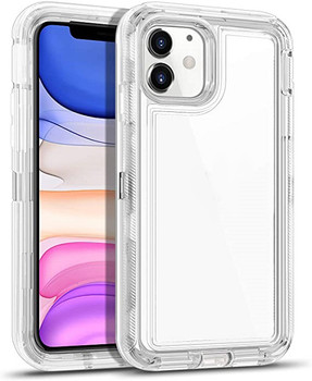 For iPhone 11 Hard and Clear Case