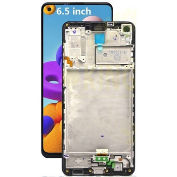 For  Samsung Galaxy A21S SM-A217 LCD and Touch Screen Assembly With Frame