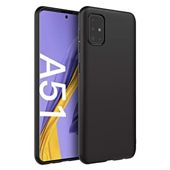 For Samsung Galaxy  A51 Back Cover Black