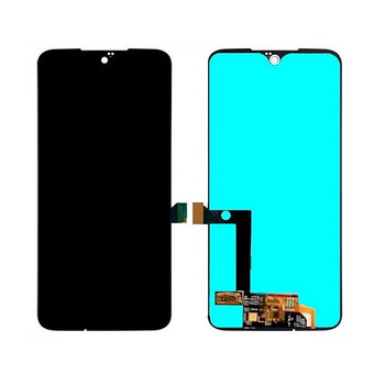 For Moto G8 Plus LCD and Touch Screen Assembly (Black)