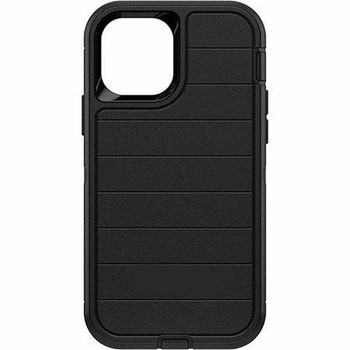 For iPhone 12 Pro Max Outer Defender Case Black