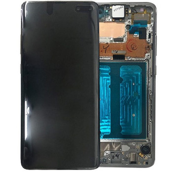 For Samsung Galaxy S10 5G Refurb LCD and Touch Screen Assembly. (Black)