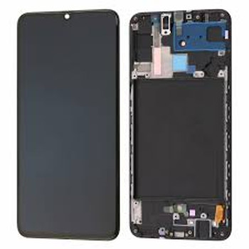 For Samsung Galaxy A70  LCD and Touch Screen Assembly With Frame