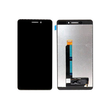 For Nokia 6.1 LCD and Touch Screen Assembly. ( Black)