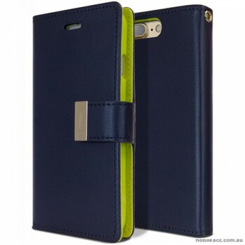 For iPhone 7/8 Rich Diary Case Blue