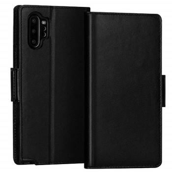 For Samsung Galaxy Note 10 Plus Rich Diary Case Black